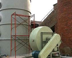 陕西某砖厂窑炉脱硫塔