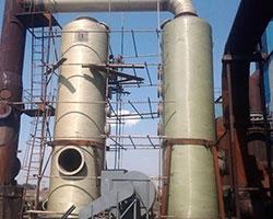 甘肃某工业砖厂窑炉脱硫塔